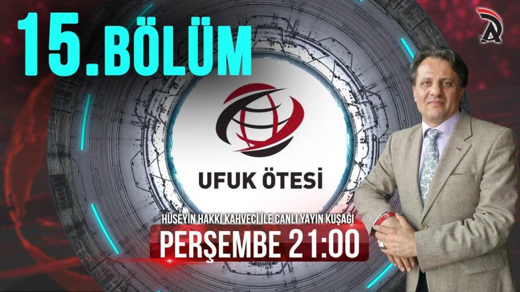 KAHVECİ İLE ATAM TV - UFUK ÖTESİ 26 NİSAN PERŞEMBE 21:00'DA