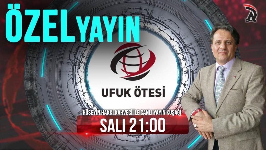 KAHVECİ İLE ATAM TV - UFUK ÖTESİ ÖZEL YAYINI 10 NİSAN SALI 21:00'DA