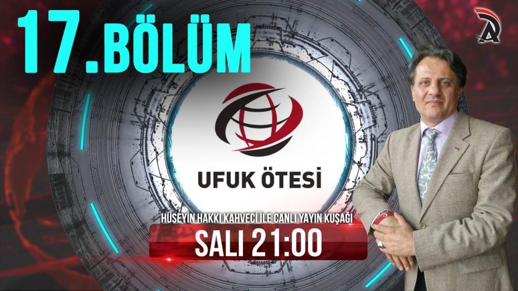 KAHVECİ İLE ATAM TV - UFUK ÖTESİ 7 MAYIS SALI 21:00'DA