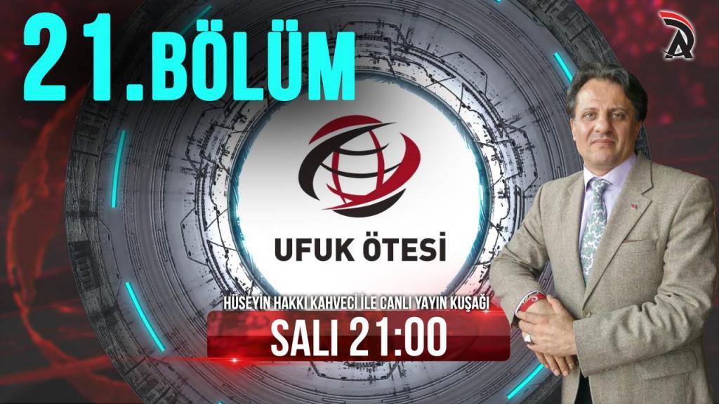 KAHVECİ İLE ATAM TV - UFUK ÖTESİ 12 HAZİRAN SALI 21:00'DA