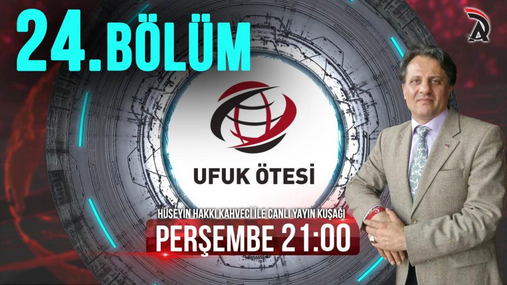 KAHVECİ İLE ATAM TV – UFUK ÖTESİ 19 TEMMUZ PERŞEMBE 21:00'DA