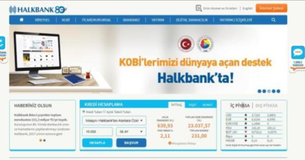 Halkbank Web Sitesi