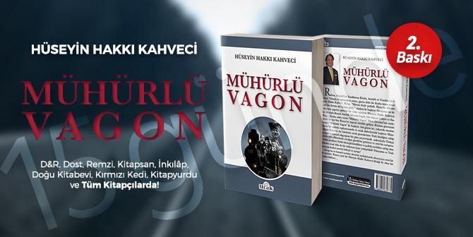 """EZBER BOZAN KİTAP """"MÜHÜRLÜ VAGON"""" ON BEŞ GÜNDE İKİNCİ BASKIYI YAPTI"""