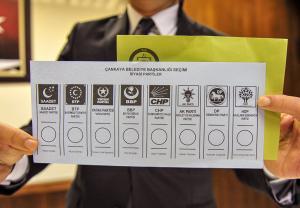 31 Mart yerel seçimleri için partilerin adaylarını belirlenmesinin ardından oy pusulalarının şekli de belli oldu. Yüksek Seçim Kurulu (YSK) tarafından örnek oy pusulaları basına tanıtıldı.