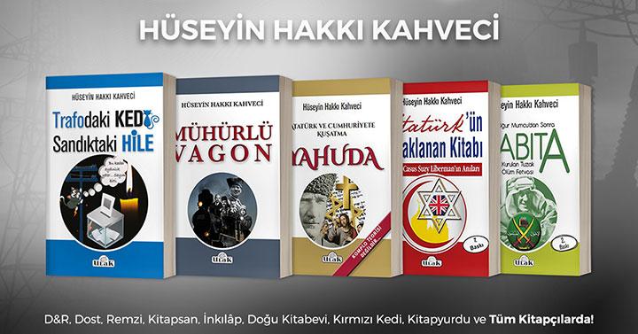 Hüseyin Hakkı Kahveci'den tarihe ve geleceğe yön veren kitaplar