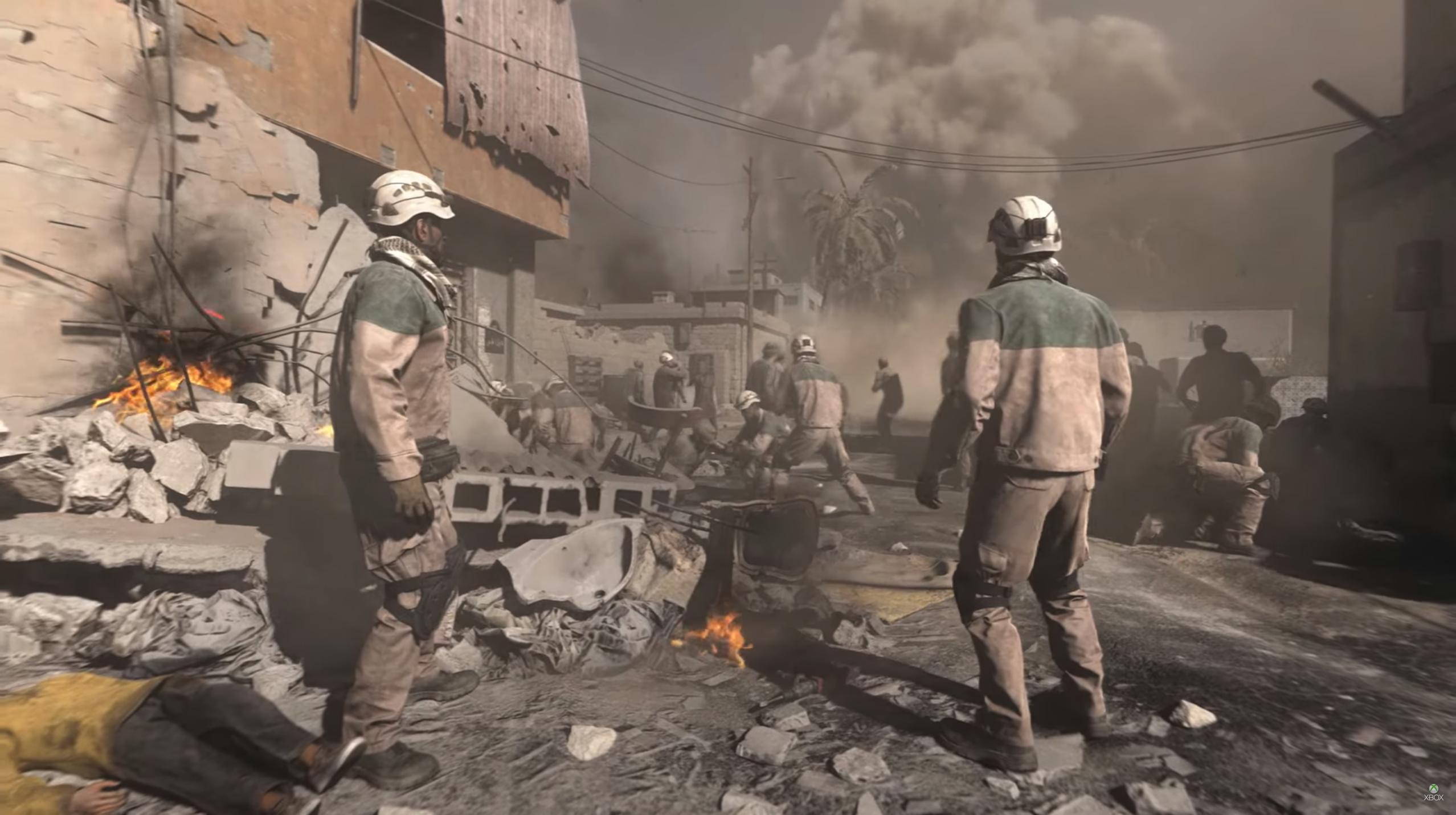 Call of Duty - Beyaz Miğferler