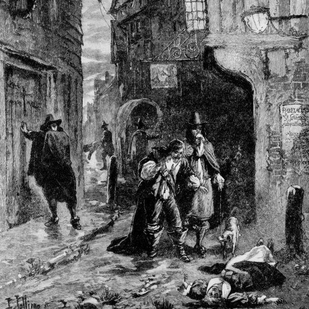 Büyük Veba Londra nüfusunun dörtte birinin ölümüne neden olmuştu.
