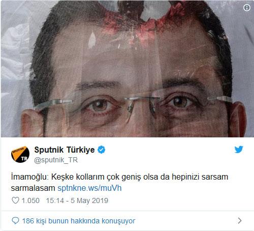 Sputnik Türkiye İmamoğlu Haberi - 5 Mayıs 2019 15:14