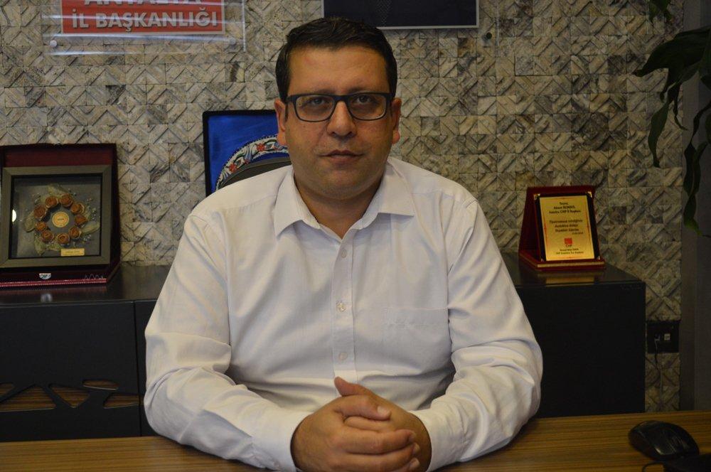 CHP Antalya İl Başkanı Ahmet Kumbul