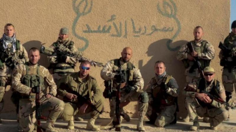 Rus paralı askerlerin şirketi Wagner, Suriye'de de bulunuyor.