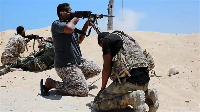 Libya'da şiddetli çatışmalar sürüyor.