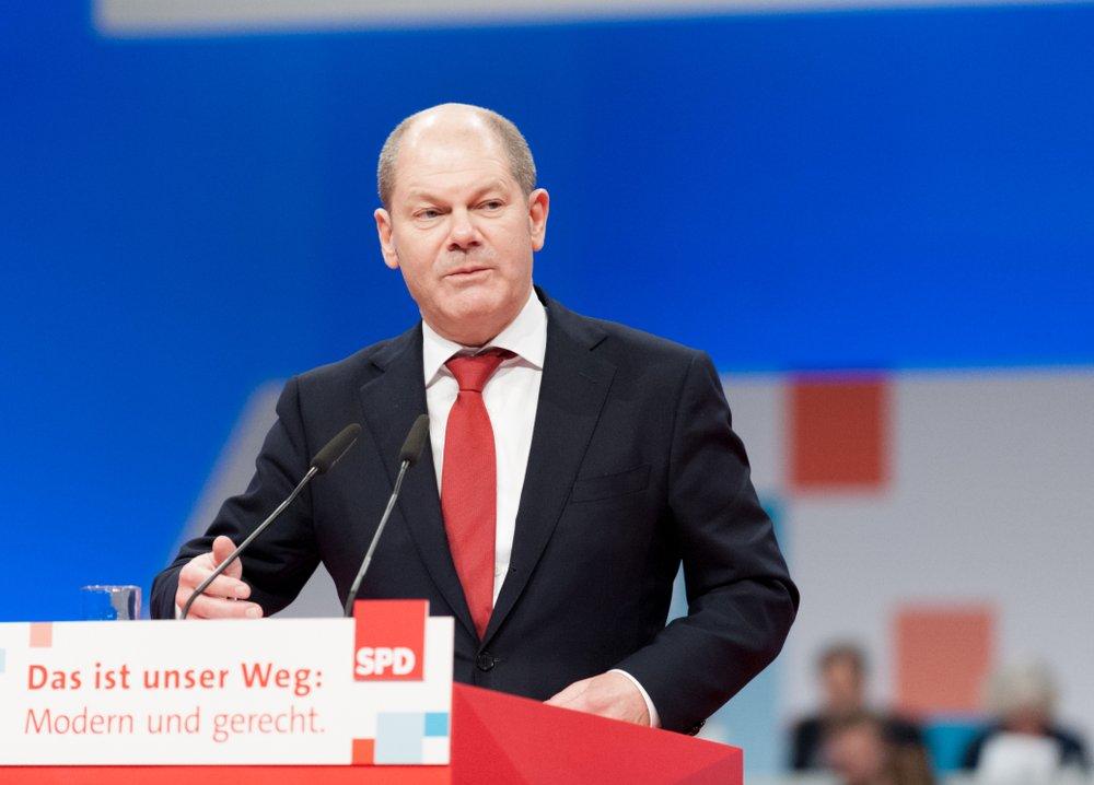 Maliye Bakanı Olaf Scholz (Fotoğraf: Shutterstock)
