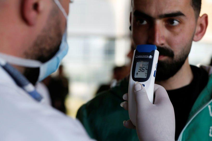 Ürdün'de Corona virüsünün yayılmasını önlemek amacıyla kontroller yapılıyor.