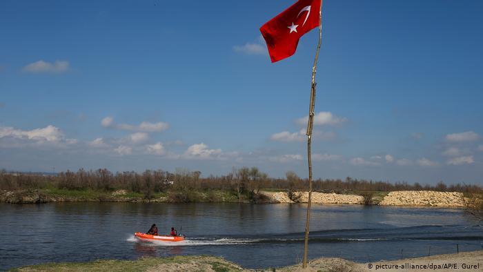 Arşiv - Meriç Nehri'nde devriye görevinde bulunan Türk özel güvenlik güçleri (11.03.2020)