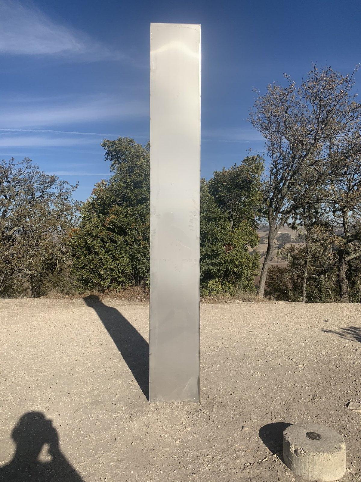 California'daki monolit.