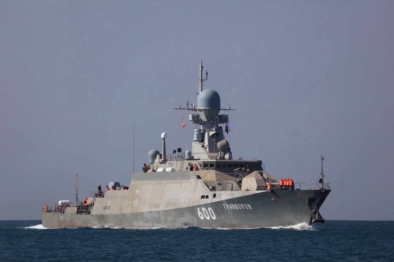 Rus Donanması Buyan-M sınıfı korvet Graivoron