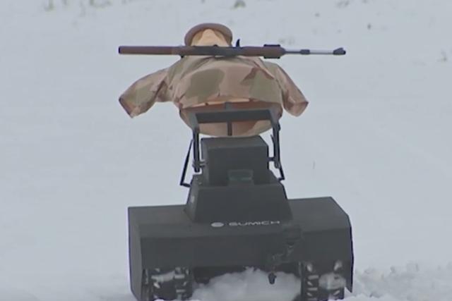 Mermilerden Kaçınmak için Geriye Doğru Yatan AI Tabanlı Robot (Görsel: Defense World)