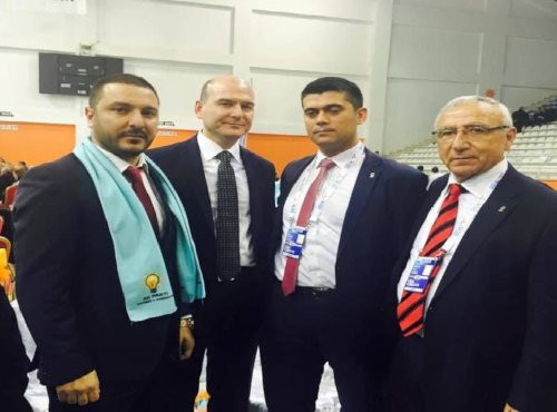 Süleyman Soylu ile Sedat Fazloğlu'nun (sağdan ikinci) fotoğrafı çıkmıştı.