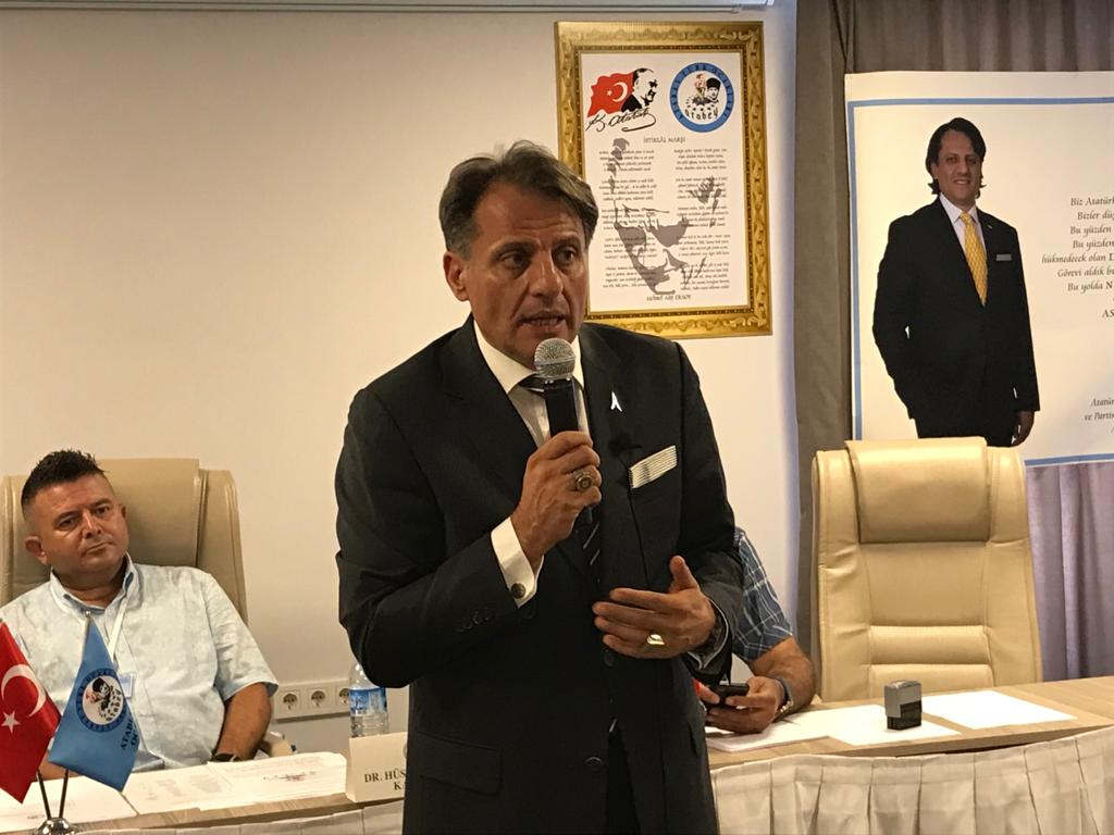 Atabey19 Gençlik Kültür Ocakları Genel Başkanı Hüseyin Hakkı Kahveci