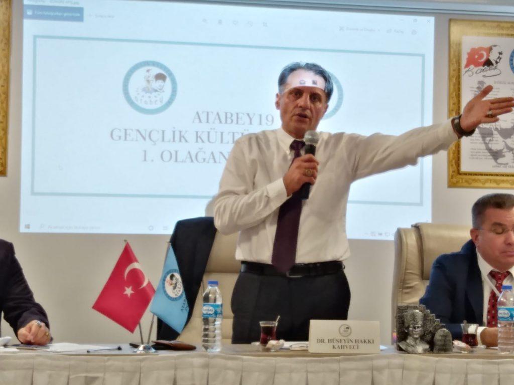 Atabey19 Genel Başkanı Hüseyin Hakkı Kahveci