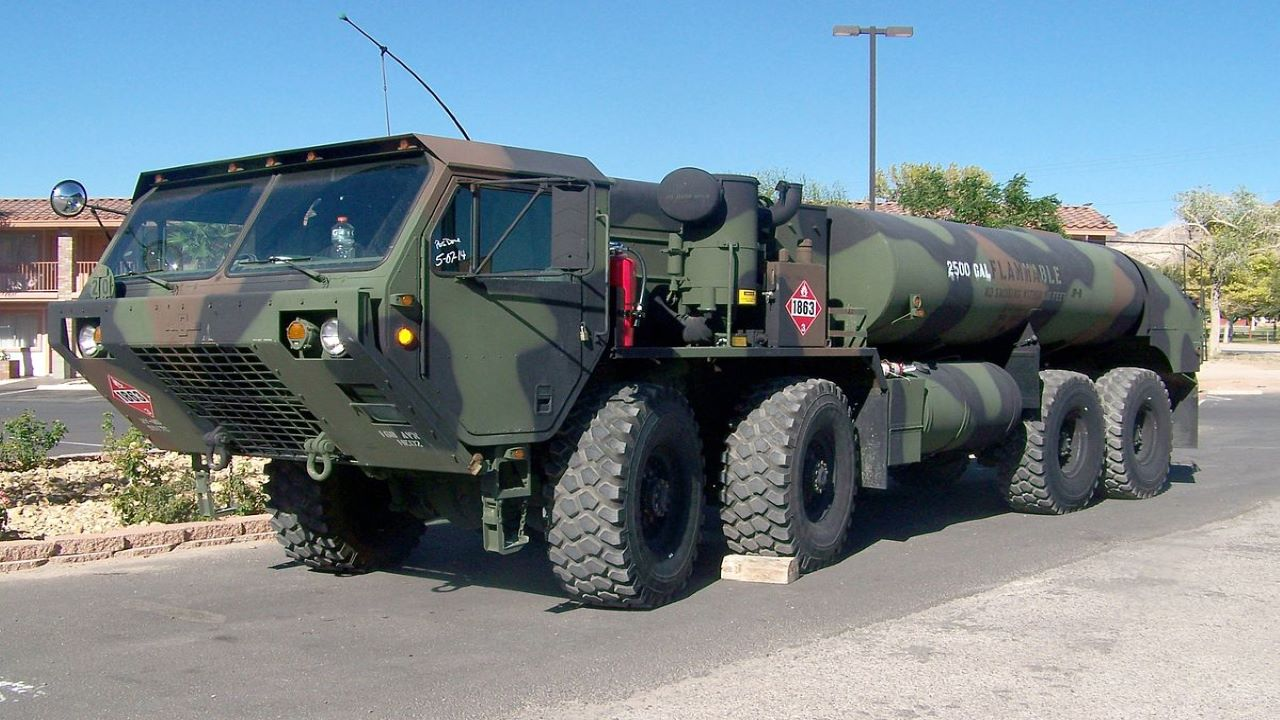 Oshkosh Defense Tarafından Geliştirilen 8 x 8 HEMTT(Görsel: Army Technology)