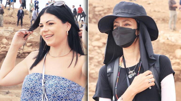 Karahantepe turistlerin ilgi odağı oldu.