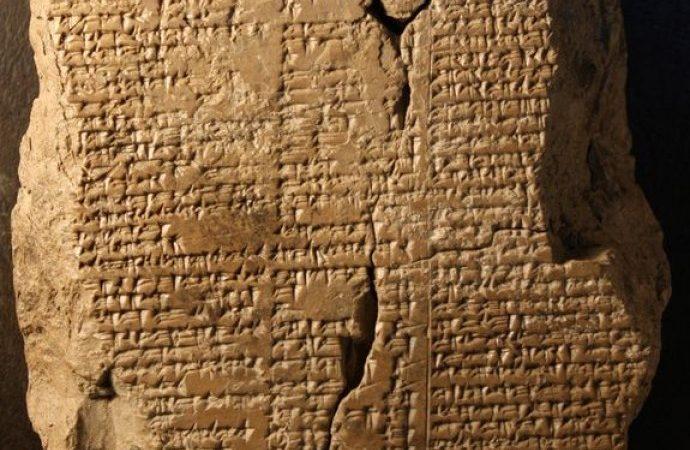 3 bin 600 yıllık tabletin, Amerika Birleşik Devletleri (ABD) tarafından Irak'a iade edildi.